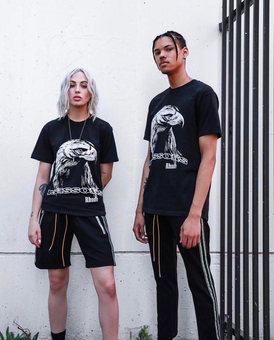 全新商品 RHUDE 19SS Traxedo Shorts 休閒褲 短褲