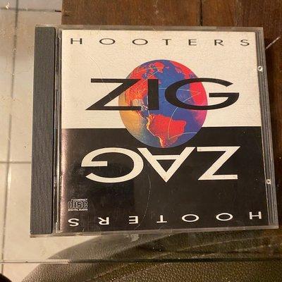 ~春庄生活美學小舖~2手CD       HOOTERS/ZIG ZAG