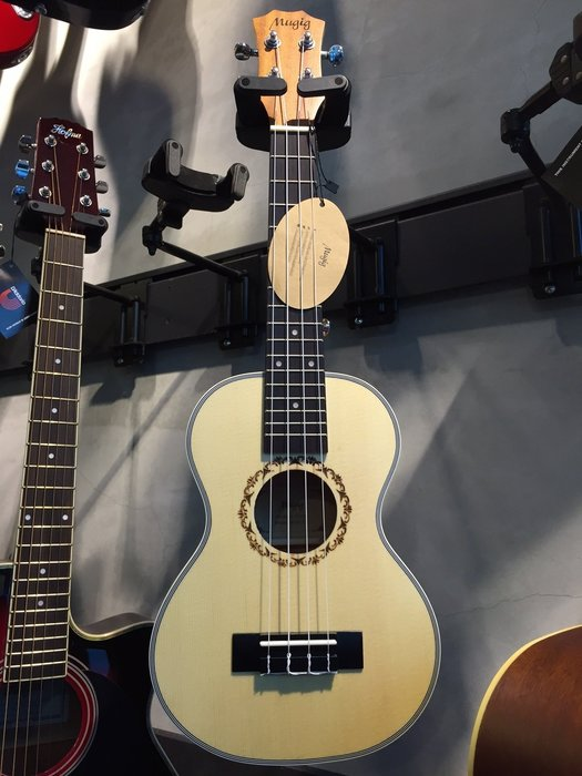 【六絃樂器】全新 Mugig 23吋 雲杉面板烏克麗麗 UKULELE / 現貨特價