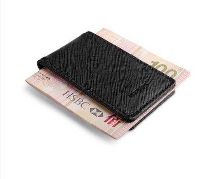 injoylife創意磁性鈔票夾 磁鐵男士真皮隨身錢夾個性歐美錢包超薄