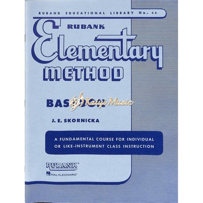 Kaiyi Music 【Kaiyi Music】Rubank Elementary method bassoon