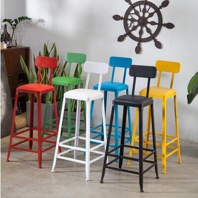 吧台椅 北歐實木吧台桌靠牆家用星巴克桌椅咖啡廳奶茶店長條吧台高腳簡約全館免運