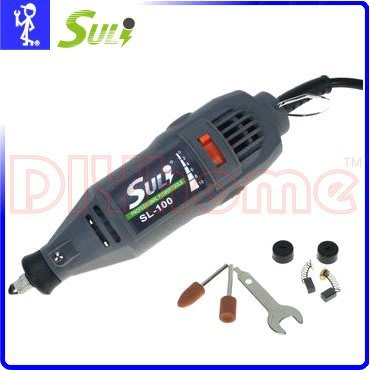 [DIYhome] SULI 電動刻磨機 10段變速 SL-100 雕刻.研磨.刻磨機.研磨利器 D205085