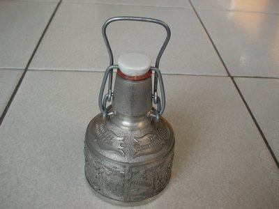 德國REIN ZINN 94%古董錫器酒壺,錫壺品相超優,保存完美,值得珍藏【A153】