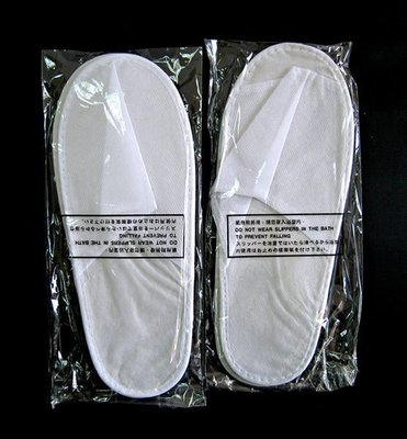 Kevin美妝舖‧考試專用 紙拖鞋 全新商品 *