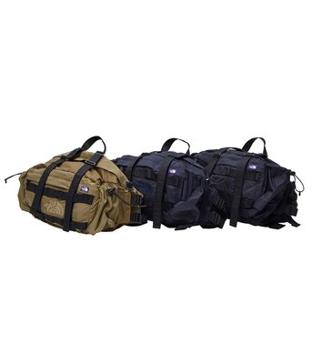 {XENO}日本正品 THE NORTH FACE CORDURA Nylon Lumber Pack 紫標 北臉 旅行