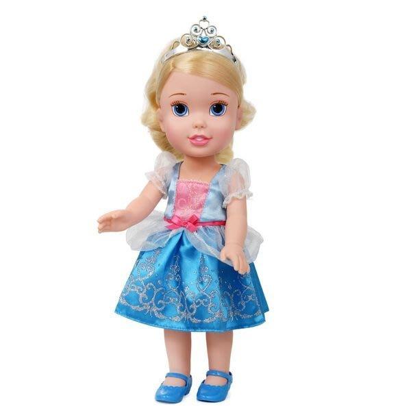 gaga玩具城 迪士尼 Disney 公主 仙杜瑞拉 灰姑娘 仙履奇緣 幼兒娃娃 大洋娃娃