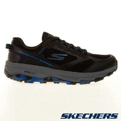 SKECHERS GORUN TRAIL ALTITUDE男鞋 越野 健走 避震 瑜珈抗菌鞋墊 黑藍220112BKBL零碼