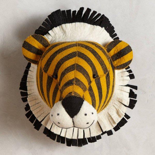【18Park 】溫馨設計 Tiger [ Fiona Walker老虎頭-壁掛飾 ]