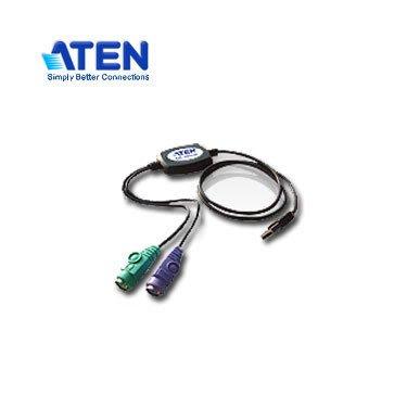 【MR3C】含稅 ATEN宏正 UC10KM USB to PS/2 轉接線 A公-PS2母*2(鍵盤+滑鼠) 90cm