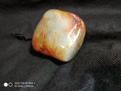 諸羅山人~~---貼目前成交單價最高的和闐籽玉原石,167.3g   一把握  聊聊和闐近況
