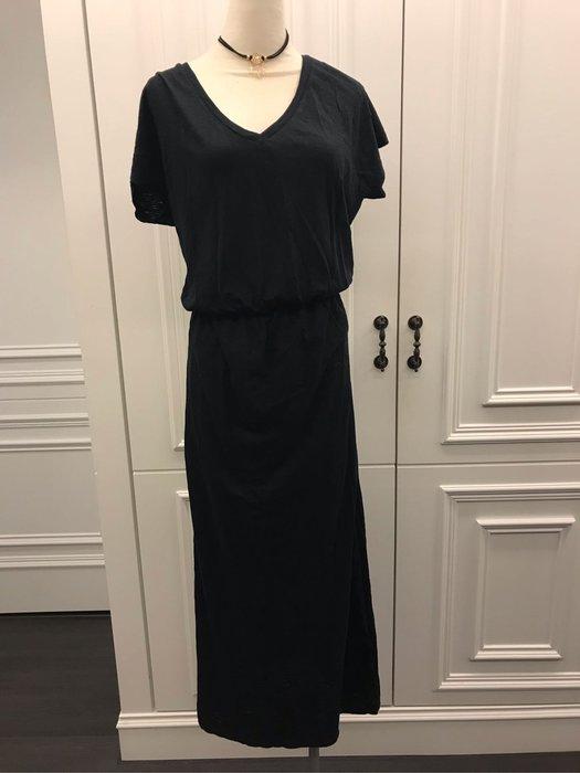 黑色休閒連身裙