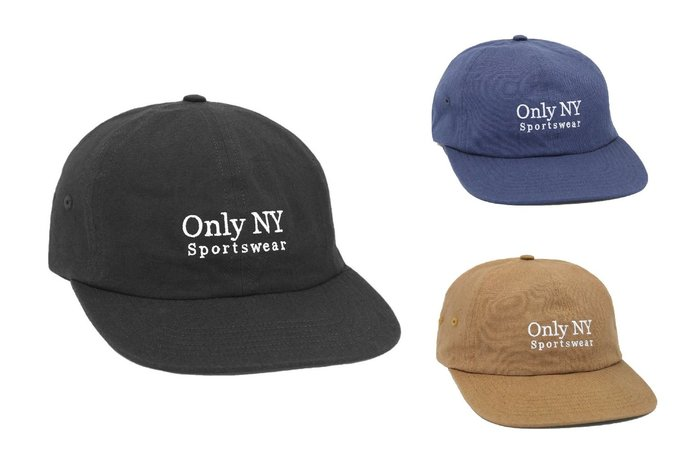 { POISON } ONLY NY GUIDELINE POLO HAT 日本棉混面料老帽棒球帽 美國製