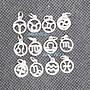 琥珀貓銀飾DIY【925純銀材料配件】墜飾~ A13...