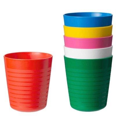 拆售 不挑色 Ikea IKEA 兒童餐具 杯子 彩色 學習 餐具 安全 無毒 另有 碗 盤 刀 叉 匙 湯匙 刀子 叉子 彰化縣