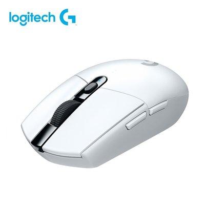 羅技 G304 LIGHTSPEED 無線電競滑鼠 白色