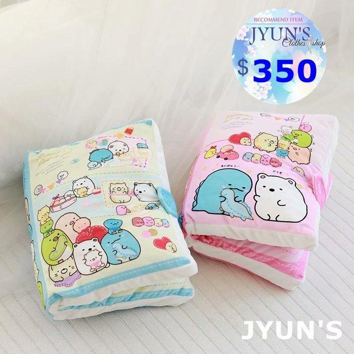 JYUN'S 新品超柔軟角落生物系列 米奇米妮 玩具總動員 毛絨玩具創意抱枕午睡枕頭圖書類趣味設計抱枕 3款 預購