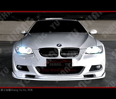 BMW 3-Series E92 E93 前下巴 定風翼 m tech 05 06 07 08 09 10