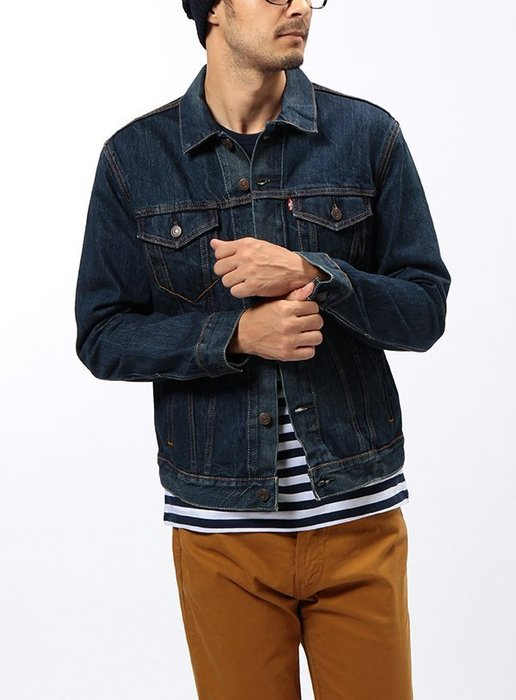 「NSS』LEVI'S LEVIS DENIM JACKET 72334 0059 水洗 牛仔外套 M L