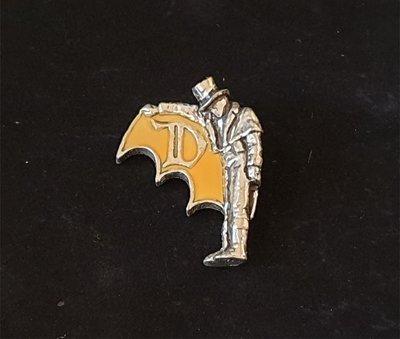 ONE*$1~英格蘭*ALCHEMY*鍊金術-1997《撲克伯爵*項鍊 》暗黃搪瓷*錫合金*手工製品