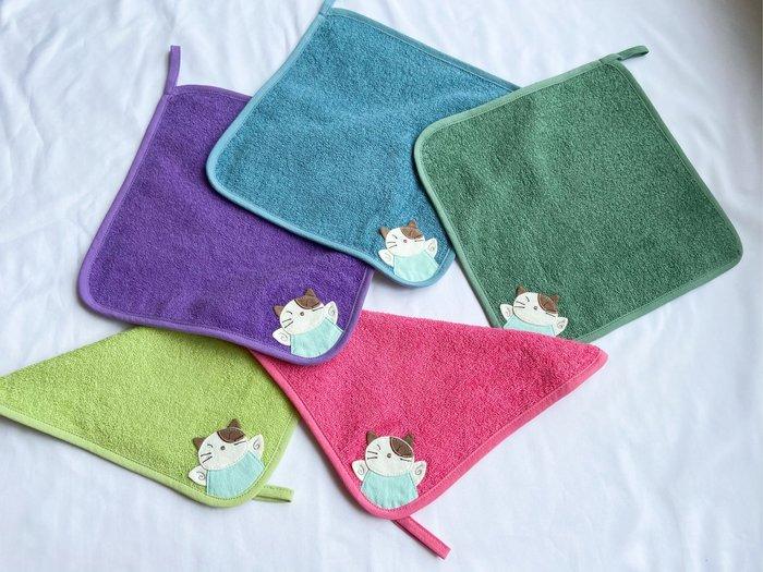 日本卡拉貓~天使Gon醬抗菌純棉小毛巾