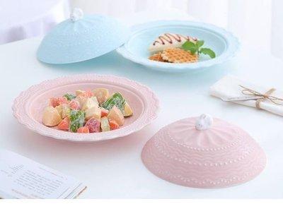 法式 陶瓷 兔子 有蓋 湯盤