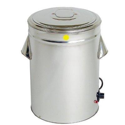 一鑫餐具【不銹鋼溫控冰桶 17立】插電保溫桶白鐵桶保溫冰桶不銹鋼冰桶保熱桶豆花保溫桶
