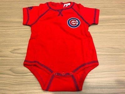 JFK 美國majestic MLB Chicago Cubs 幼童短袖連身裝 包屁衣 6-9m