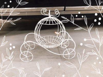 無折扣【華蕊】*鐵製南瓜車*居家裝飾 花園造景 花園佈置 庭院佈置 婚禮佈置 會場佈置 花架 低價 促銷 出清