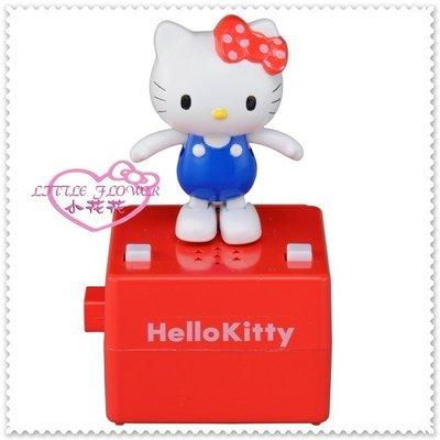 小花花日本精品 Hello Kitty    踢踏舞音樂公仔 音樂玩具 藍衣站姿50103508