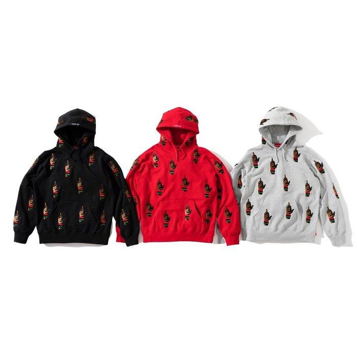 【美國鞋校】預購 Supreme FW19 dead prez RBG Embroidered Hooded 中指 帽T