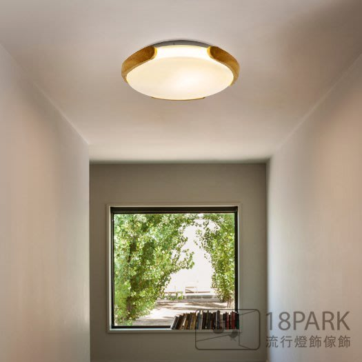 【18Park 】 清新素雅 Flat light [ 平沿光吸頂燈-40 ]