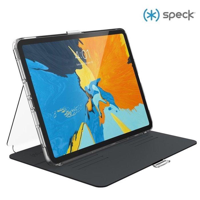 """Speck iPad Pro 11"""" 多角度側翻皮套1.2米防摔透明背蓋保護套 可放Apple Pencil 2 喵之隅"""