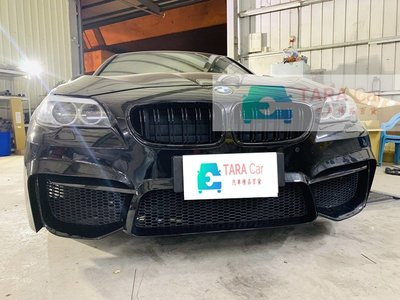 BMW F10 改 跨界5 全車套件 PP材質 前保桿 前大包 含 水箱罩 葉子板 側裙 後保桿 M5款尾翼