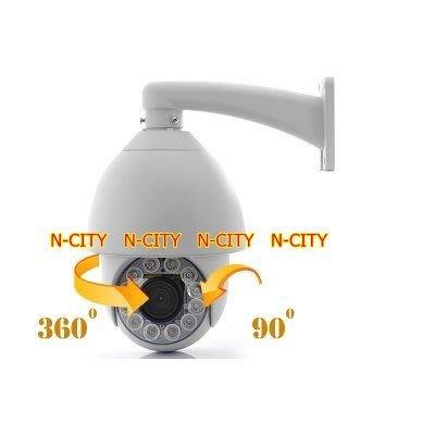 (N-CITY) SR-15 -6吋30倍PTZ超低照度 紅外線快速球SPEED DOME(Super high-power IR led) (700TVL)