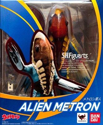 日本正版 萬代 S.H.Figuarts SHF 超人力霸王 美特隆星人 可動 模型 公仔 日本代購