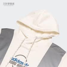 FOCA ADIDAS Original 三葉草 FT5850 男性 白色 REFLECT 愛迪達 長袖帽T