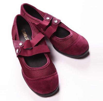 yes99buy加盟-{舞動奇蹟}現代舞鞋跳操鞋 瑜伽鞋舞蹈鞋 軟底拉帶配真皮舞鞋   預購7天+現貨