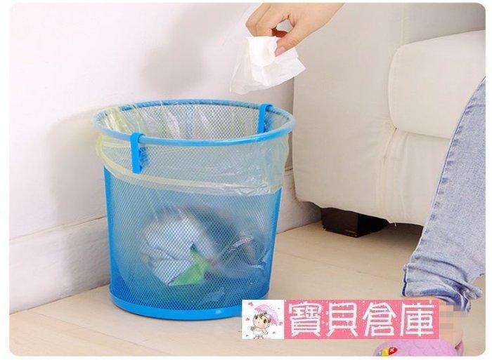 寶貝倉庫-創意垃圾桶夾子-垃圾袋固定器-垃圾袋夾子-固定夾-塑料袋夾子-垃圾袋防滑夾-1包2入裝
