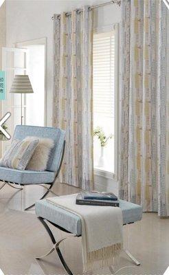 台中窗簾-雅式多窗簾布~無接縫窗紗~樹葉渲染~每呎280-560元特價中《台中市免運費》