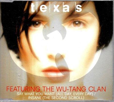 德州合唱團Texas / Featuring The Wu-Tang Clan(單曲)
