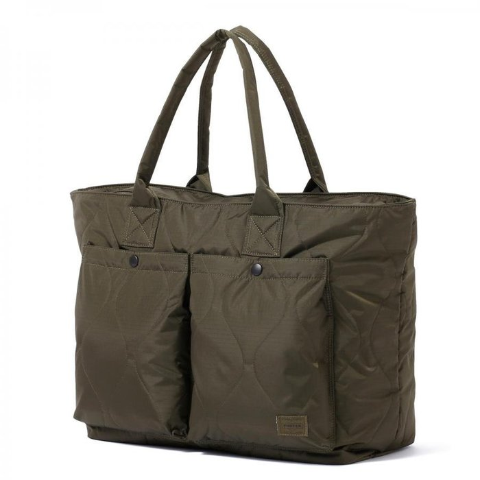 WaShiDa PLUS+【HEAD PORTER CLAYTON 系列 TOTE BAG (L) 托特包 書包 】