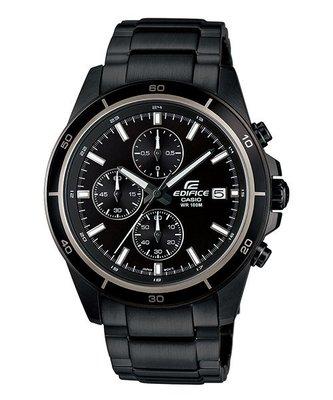 CASIO 卡西歐 EDIFICE  簡潔精準的賽車錶標準三針三圈設計 EFR-526BK-1A1  (526 BK ) 基隆市