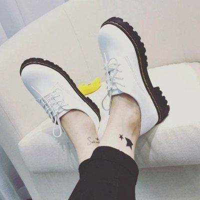 英倫復古女娃娃鞋 秋季新款單鞋學生軟妹小皮鞋英倫風復古百搭ulzzang娃娃女鞋 99