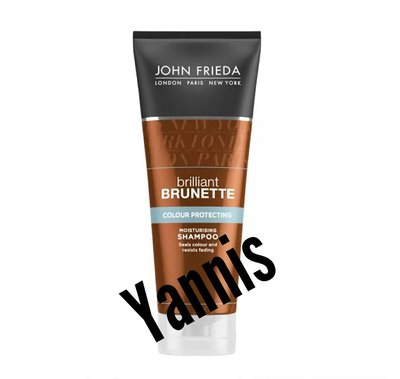🇬🇧正貨 John Frieda Brilliant Brunette Colour Protect Moisturising Shampoo 250ml