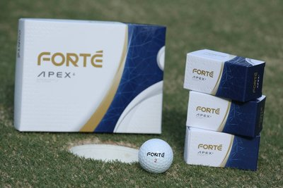 青松高爾夫  FOREMOST  FORTE APEX6 高爾夫球  六層球 科技新品