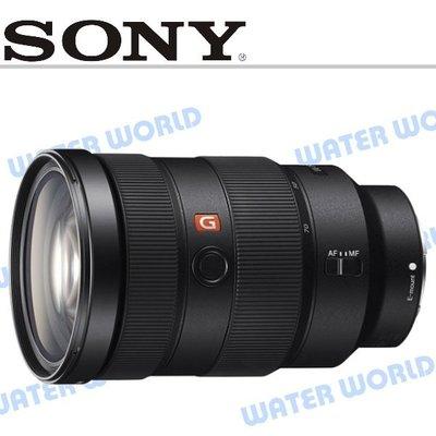 【中壢NOVA-水世界】SONY SEL2470GM 24-70mm F2.8 GM 全片幅 中距望遠鏡頭 公司貨