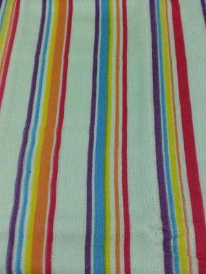 日本紗布毛巾 34x90cm【FUTAE GAUZE&PILE】洗臉毛巾 吸水毛巾  彩虹 條紋