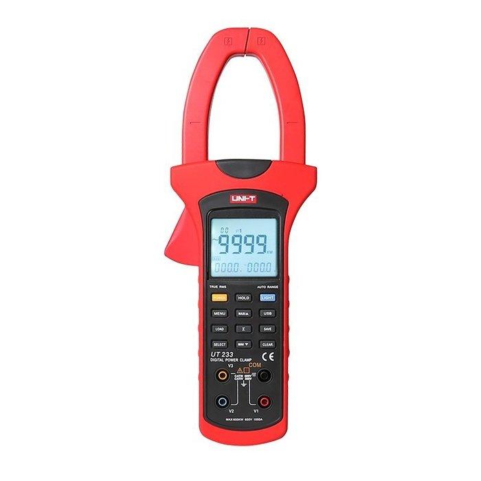 TECPEL 泰菱 》UNI-T 優利德  UT-233 功率勾表 鉤錶 鈎表 UT-233
