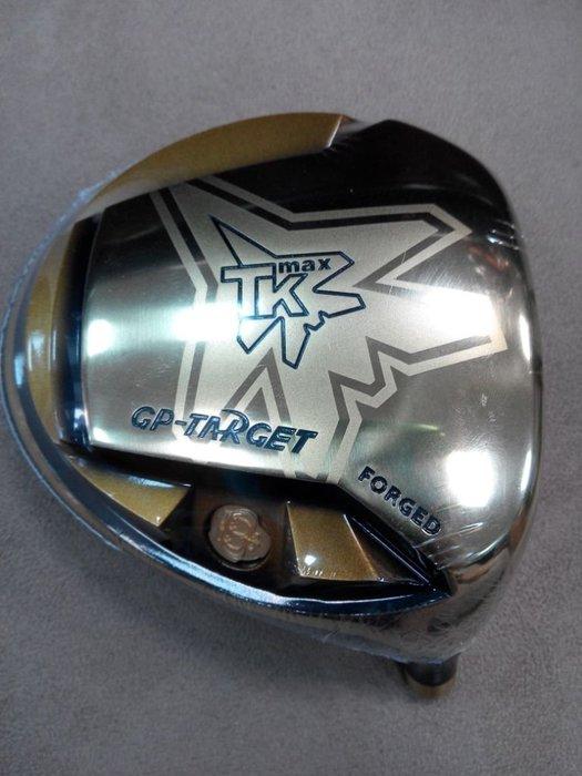 (狗夫小舖)GRAND PRIX GOLF NEW TK MAX TARGET系列單售球頭(男/右)(轟炸機)